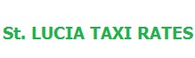 st lucia taxi rates